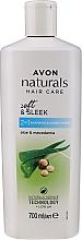 "Parfüm, Parfüméria, kozmetikum Sampon 2 az 1-ben ""Aloe és makadámia olaj"" - Avon Naturals Shampoo"
