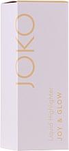 Parfüm, Parfüméria, kozmetikum Folyékony higlighter - Joko Joy & Glow Liquid Highlighter