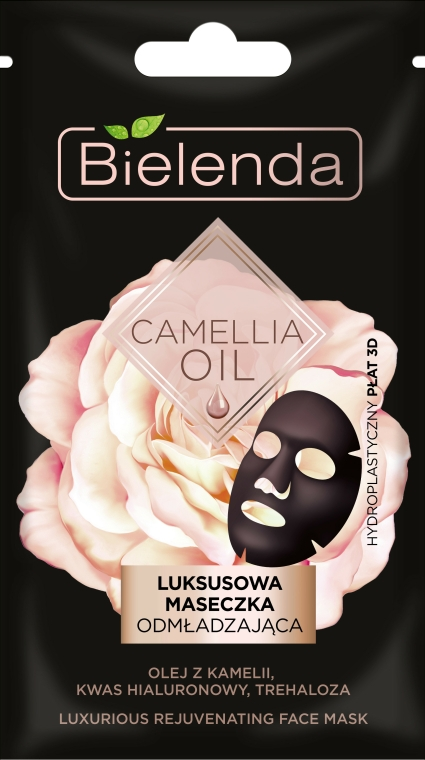 Regeneráló szövetmaszk - Bielenda Camellia Oil Luxurious Rejuvenating Sheet Mask