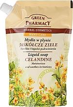 """Parfüm, Parfüméria, kozmetikum Folyékony kézszappan """"Vérfű"""" - Green Pharmacy Celandine Liquid Soap (utántöltő)"""