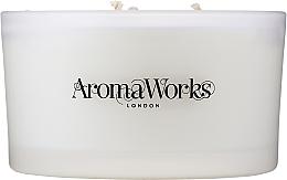 """Parfüm, Parfüméria, kozmetikum Illatosított gyertya """"Serenity"""" 3 kanóccal - AromaWorks Serenity Candle 3-wick"""