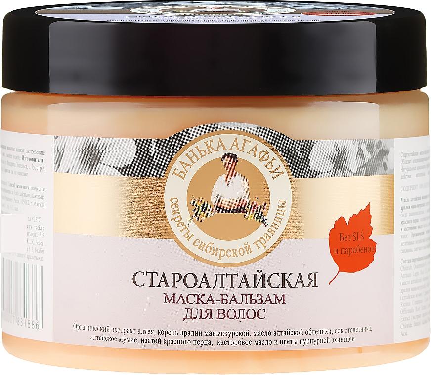 Altaj hajpakolás és balzsam - Agáta nagymama receptjei