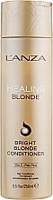Parfüm, Parfüméria, kozmetikum Gyógyító kondicionáló természetetes és színt vesztett hajra - L'anza Healing Blonde Bright Blonde Conditioner