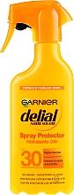 Parfüm, Parfüméria, kozmetikum Napvédő hidratáló spray - Garnier Delial Ambre Solaire 24h Hydration Spray Protector SPF30