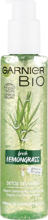 Arctisztító gél - Garnier Bio Fresh Lemongrass Detox Gel Wash