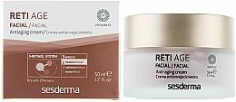 Parfüm, Parfüméria, kozmetikum Öregedégátló krém száraz bőrre három féle retinollal - SesDerma Laboratories Reti Age Facial Antiaging Cream 3-Retinol System