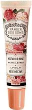 "Parfüm, Parfüméria, kozmetikum Ajakbalzsam sheavajjal ""Rózsa"" - Panier des Sens Lip Balm Shea Butter Rose Nectar"