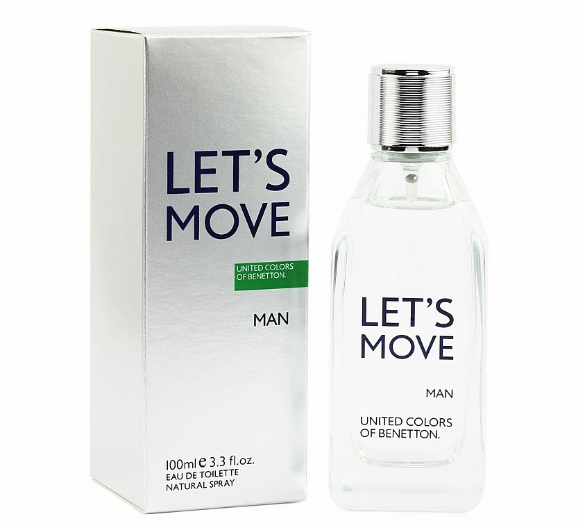 Benetton Let's Move - Eau De Toilette