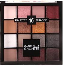 Parfüm, Parfüméria, kozmetikum Szemhéjfesték paletta - Gabriella Salvete Palette 16 Shades II