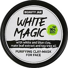 Parfüm, Parfüméria, kozmetikum Arcmaszk maté levél kivonattal - Beauty Jar White Magic