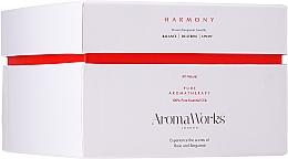 """Parfüm, Parfüméria, kozmetikum Illatosított gyertya """"Harmónia"""" 3 kanóccal - AromaWorks Harmony Candle 3-wick"""