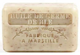 Parfüm, Parfüméria, kozmetikum Marseillaise szappan zab olajjal - Foufour Savonnette Marseillaise Huile de Germe de Ble