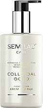 Parfüm, Parfüméria, kozmetikum Regeneráló kézkrém - Semilac Colloidal Gold Hand Cream