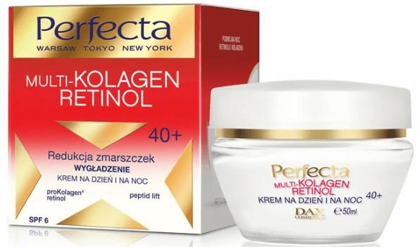 Arckrém - Dax Cosmetics Perfecta Multi-Collagen Retinol Face Cream 40+