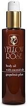 Parfüm, Parfüméria, kozmetikum Testvaj grapefruitolajjal - Yellow Rose Body Oil Grapefruit Plus