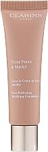 Parfüm, Parfüméria, kozmetikum Mattító alapozó - Clarins Teint Pores & Matite Foundation