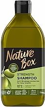 Parfüm, Parfüméria, kozmetikum Sampon oliva olajjal hosszú hajra - Nature Box Shampoo Olive Oil