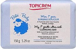 Parfüm, Parfüméria, kozmetikum Gyengéd tisztító szappan gyermekbőrre - Topicrem Bebe Baby my 1st Gentle Ultra Rich Cleansing Bar