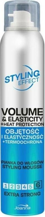 Extra fixáló hajhab nagy volumenű és rugalmas hajért - Joanna Styling Effect Styling Mousse Extra Strong