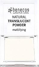 Parfüm, Parfüméria, kozmetikum Áttetsző mattító púder - Benecos Natural Translucent Powder Mission Invisible