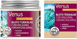 Parfüm, Parfüméria, kozmetikum Iszap zöld agyaggal és szerves kénnel - Venus Nature Your Recipe Thermal Mud With Green Clay And Organic Sulfur