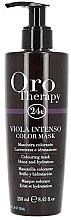 Parfüm, Parfüméria, kozmetikum Intenzív tonizáló hajmaszk - Fanola Oro Therapy Viola Intenso Color Mask