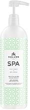 Parfüm, Parfüméria, kozmetikum Revitalizáló kézmosó gél - Kallos SPA Revitalizing Avocado & Coconut Oil Hand Wash