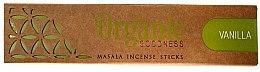 Parfüm, Parfüméria, kozmetikum Aroma pálcika - Song Of India Organic Goodness Vanilla