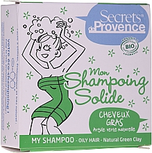 Parfüm, Parfüméria, kozmetikum Száraz sampon zöld agyaggal - Secrets De Provence My Shampoo Natural Green Clay
