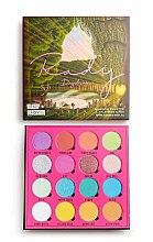 Parfüm, Parfüméria, kozmetikum Szemhéjfesték paletta, 16 szín - Makeup Obsession X Rady Eyeshadow Palette