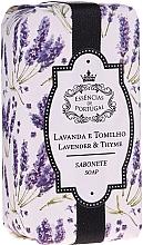 """Parfüm, Parfüméria, kozmetikum Természetes szappan """"Levendula és kömény"""" - Essencias De Portugal Natura Lavander&Thyme Soap"""