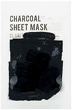 Parfüm, Parfüméria, kozmetikum Szövetmaszk faszénnel - Eunyul Purity Charcoal Sheet Mask