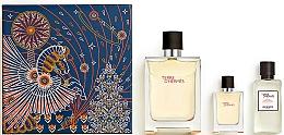 Parfüm, Parfüméria, kozmetikum Hermes Terre d'Hermes - Szett (edt/100ml + edt/12.5ml + ash/balm/40ml)