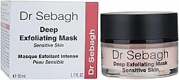 Parfüm, Parfüméria, kozmetikum Hámlasztó maszk érzékeny bőrre - Dr Sebagh Deep Exfoliating Mask