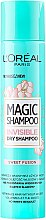 Parfüm, Parfüméria, kozmetikum Száraz sampon - L'Oreal Paris Magic Shampoo Invisible Dry Shampoo Sweet Fusion