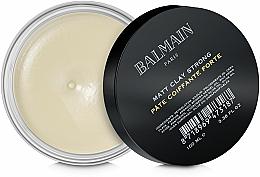 Parfüm, Parfüméria, kozmetikum Mattító agyag hajra erős fixálás - Balmain Matt Clay Strong