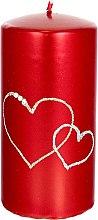 Parfüm, Parfüméria, kozmetikum Díszgyertya, piros, 7x14 cm - Artman Forever