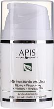 Parfüm, Parfüméria, kozmetikum Savas peeling arcra - APIS Professional Fit + Pirpgron + Milk + Ferulic 40%