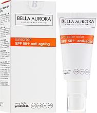 Parfüm, Parfüméria, kozmetikum Napvédő krém - Bella Aurora Solar Protector Anti-Age SPF50+