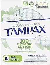 Parfüm, Parfüméria, kozmetikum Tampon applikátorral, 16 db - Tampax Cotton Protection Super