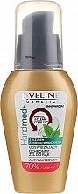 Parfüm, Parfüméria, kozmetikum Antibakteriális kézgél teafa olajjal, 70% alkohollal - Eveline Cosmetics Handmed+, 70% Alcohol