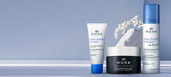 Kapj hidratáló arckrémet ajándékba, Nuxe termékek 7802 Ft feletti vásárlása során