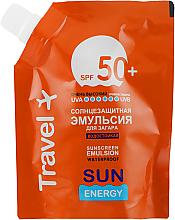 Parfüm, Parfüméria, kozmetikum Vízálló napvédő emulzió napozáshoz SPF 50+ - Sun Energy Waterproof Sunscreen Emulsion SPF 50+ (utántöltő)