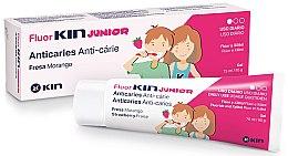Parfüm, Parfüméria, kozmetikum Gyermek fogtisztító gél - Kin Fluorkin Junior Strawberry Anticaries Gel