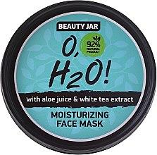 Parfüm, Parfüméria, kozmetikum Hidratáló arcmaszk - Beauty Jar O,H2O Moisturizing Face Mask