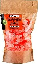 Parfüm, Parfüméria, kozmetikum Tonizáló fürdőkristály narancshéjolajjal - Beauty Jar Summer Days Energizing Bath Crystals with Orange Peel Oil