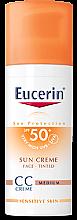 Parfüm, Parfüméria, kozmetikum CC krém - Eucerin CC-creme Sunscreen for face SPF 50+