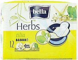 Parfüm, Parfüméria, kozmetikum Egészségügyi betét Panty Herbs Tilia, 12db - Bella