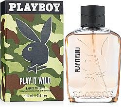 Parfüm, Parfüméria, kozmetikum Playboy Play It Wild For Him - Eau De Toilette