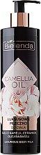 Parfüm, Parfüméria, kozmetikum Testápoló tej - Bielenda Camellia Oil Luxurious Body Milk